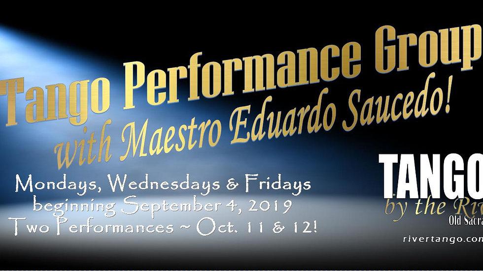 Performance Program with Eduardo Saucedo Sept 2019