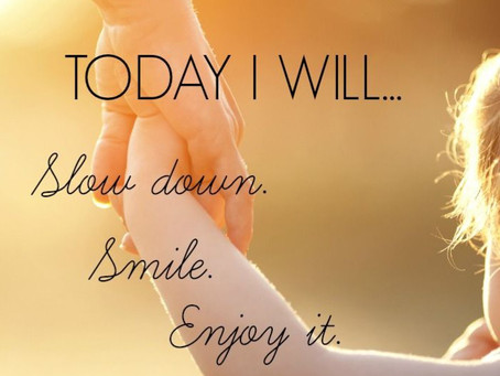 Today I will ...