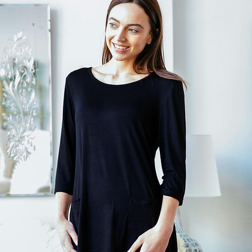 Lounge Luxe Black Top