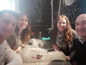 Brunch in Munich with Rebekka and Franz.