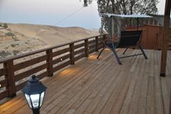Deck in evening