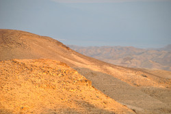 View from deck of Dead Sea