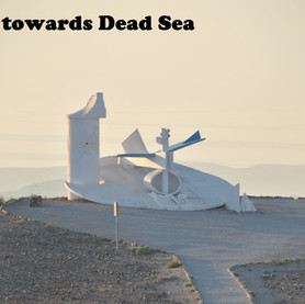 Arad vista towards Dead Sea