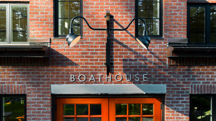 Tumblehome Boathouse