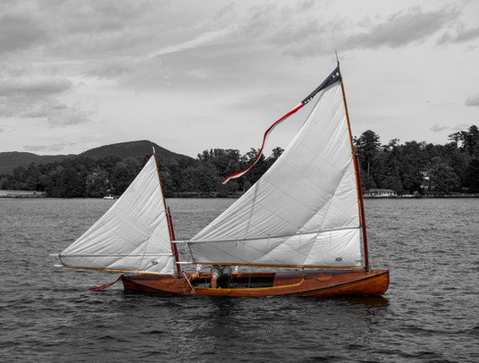 Two Sail Canoe
