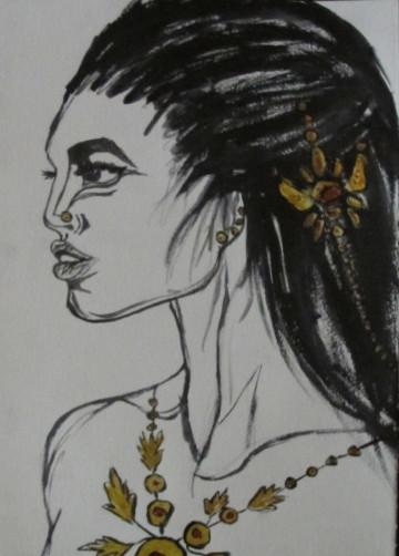 tribe woman_