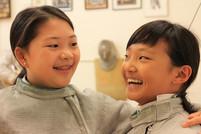 two sabre girls.JPG