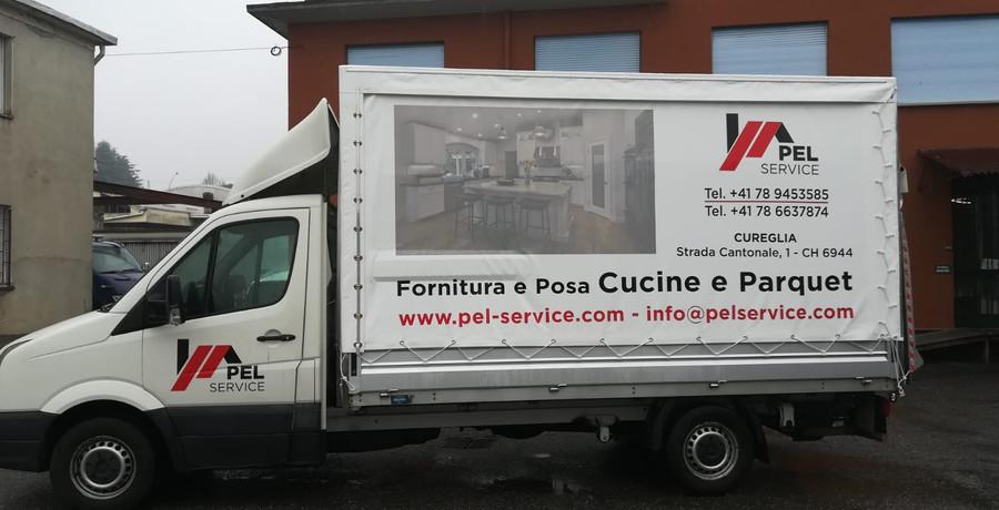 furgone telonato