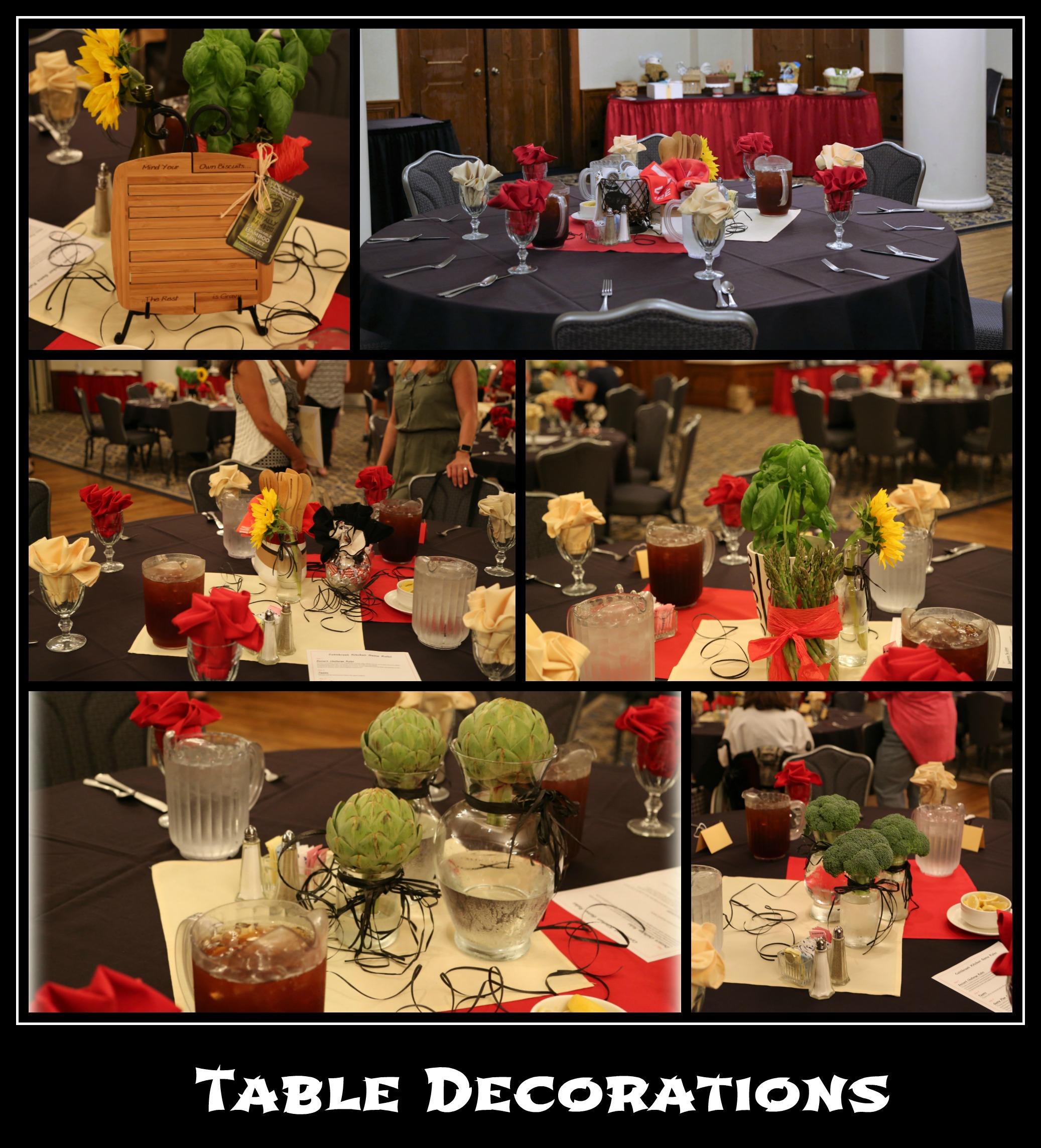 CK Table Decorations Collage