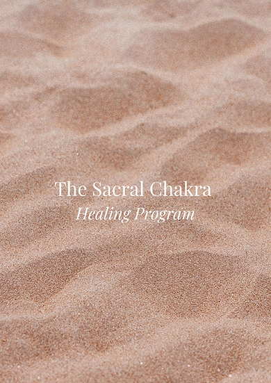 Sacral Chakra Healing Program