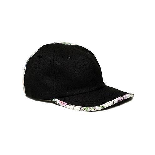 Split Floral Polo Cap
