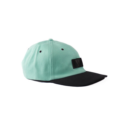 Mint Denim Polo Cap