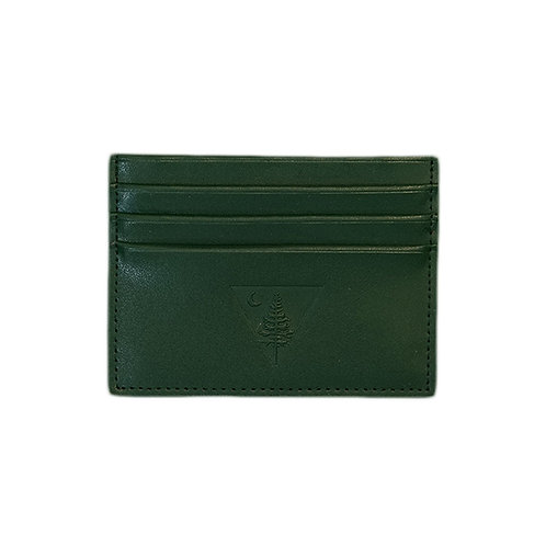 Dual Logo Leather Wallet