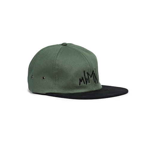 Two-Toned Twill 6-Panel Cap