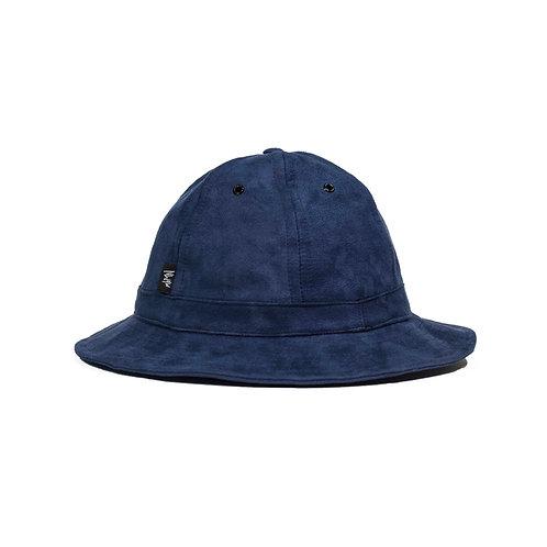 Suede (Navy) Bell Hat