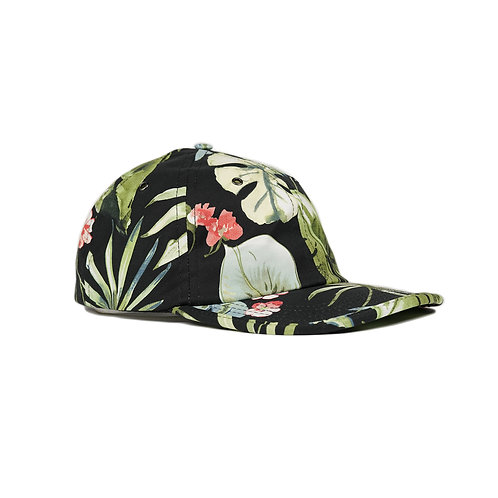 Nocturnal Floral Polo Cap