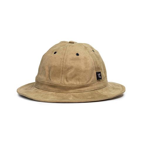 Suede (Tan) Bell Hat