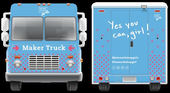 Maker Truck (Front & Back)