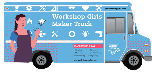 Maker Truck (Sideways)