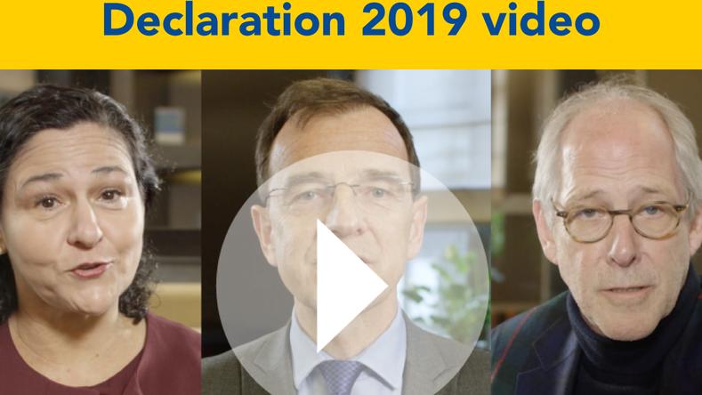 CEN-CENELEC Declaration 2019 - Standards Build Trust