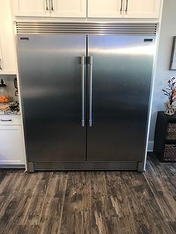 Professional Refrigerators with Trim Kit