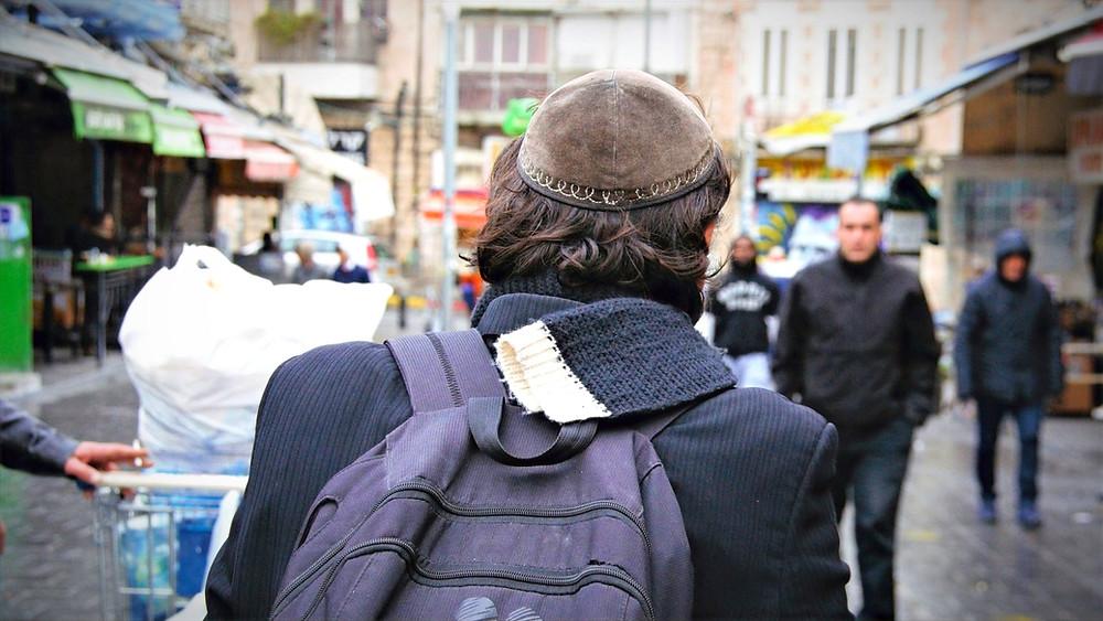 Illustration: Jewish Man in The Street [CC0 - Public Domain] via pxfuel.com
