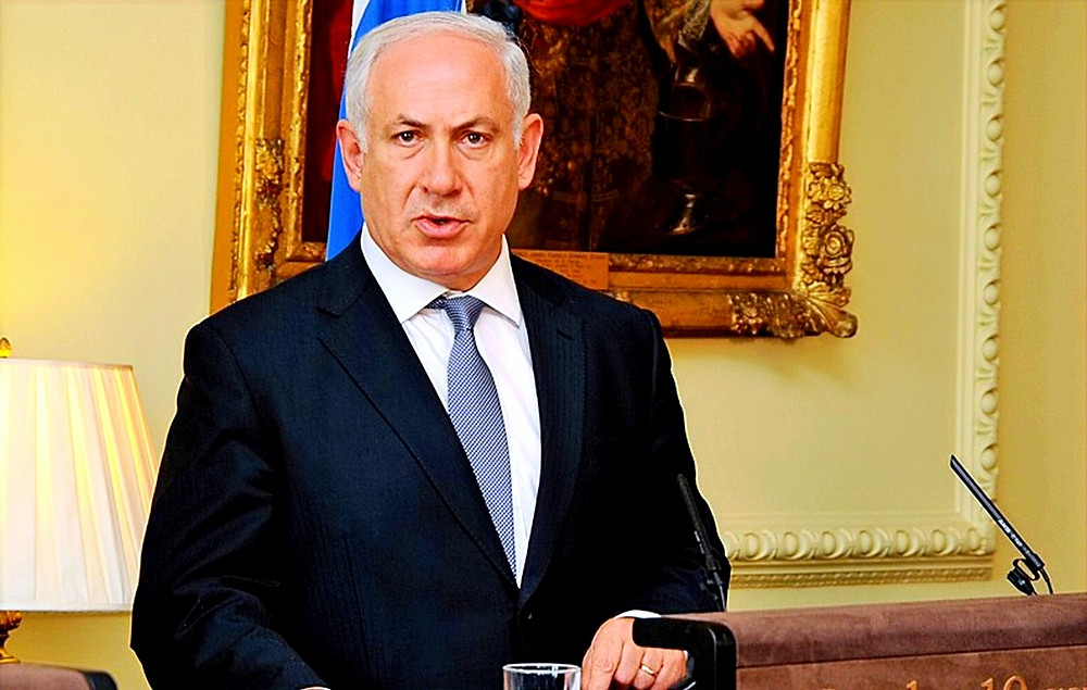Illustration: Benjamin Netanyahu at press conference by Downing Street [Crown copyright CC BY-NC-ND 2.0] via Flickr
