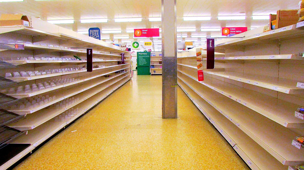 Illustration: No Bread in Sainsbury's Store by Derek Harper [CC BY-SA 2.0] via Geograph