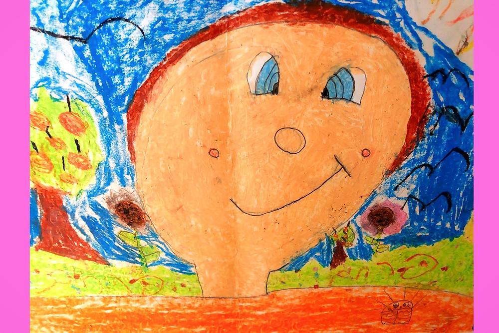 Illustration: Childhood Memory (Image Credit: Efrat Lynn © 2020)