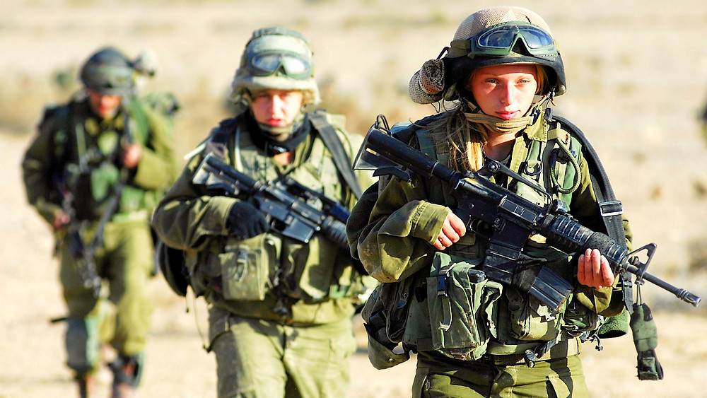 Illustration: Karakal Battalion in training by Israel Defense Forces [CC BY 2.0] via wikimedia