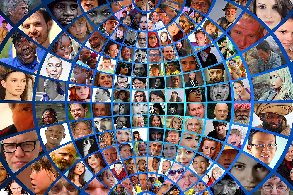 Illustration: Faces of the World by Gerd Altmann [Standard Pixabay license] from Pixabay