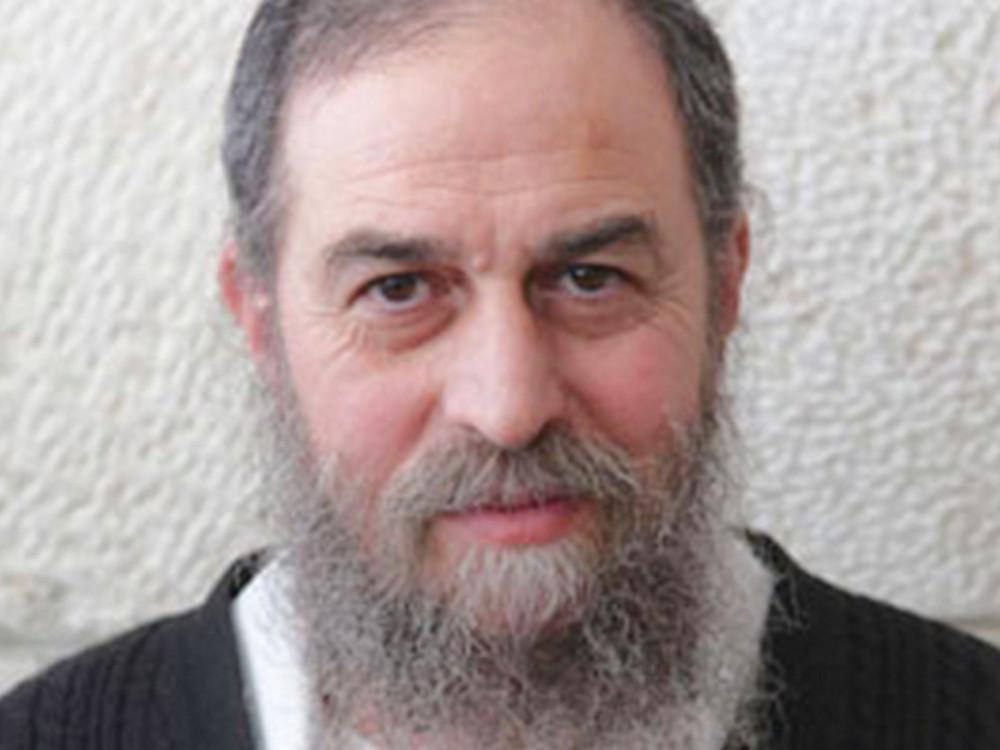 Rabbi Yirmeyahu Bindman (Photo courtesy the author)