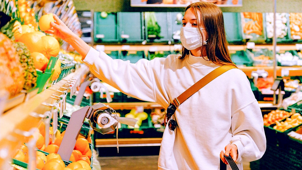Illustration: Keeping Safe When Shopping by Anna Shvets from Pexels [Pexel license]