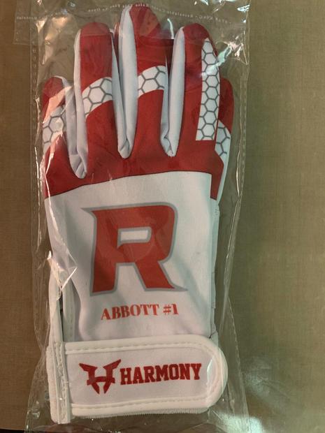 Red Batting Gloves