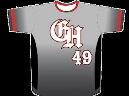 Cayuga Heat Jersey - Red/Grey