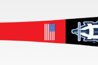 HY-271 Youth: Clinton Praire  Custom Wood Bat, Black Barrel, Red Handle