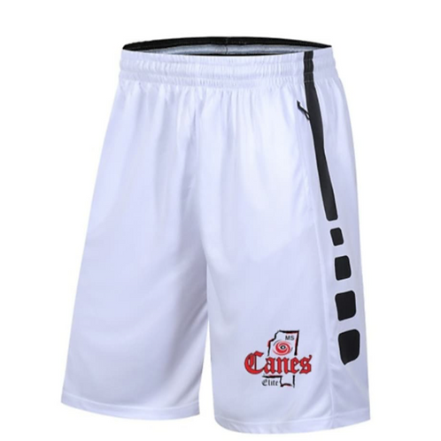 Harmony Elite Canes - Shorts: White