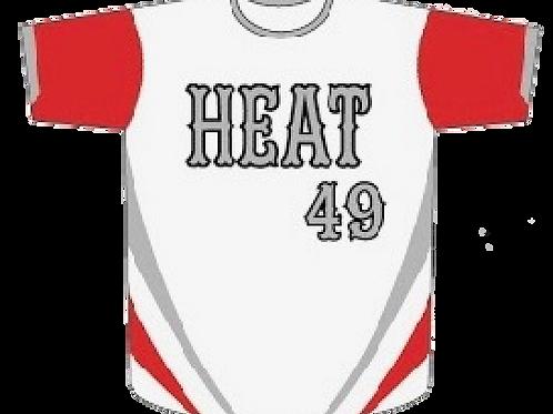 Cayuga Heat Jersey - White/Red