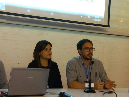 Xavi Sanmartín presenta su trabajo en el congreso de la FEATF