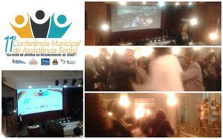 """AEC presente na 11ª Conferência Municipal de Assistência Social: """"Garantia de Direitos no Forta"""