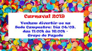 Carnaval na Sede Campestre