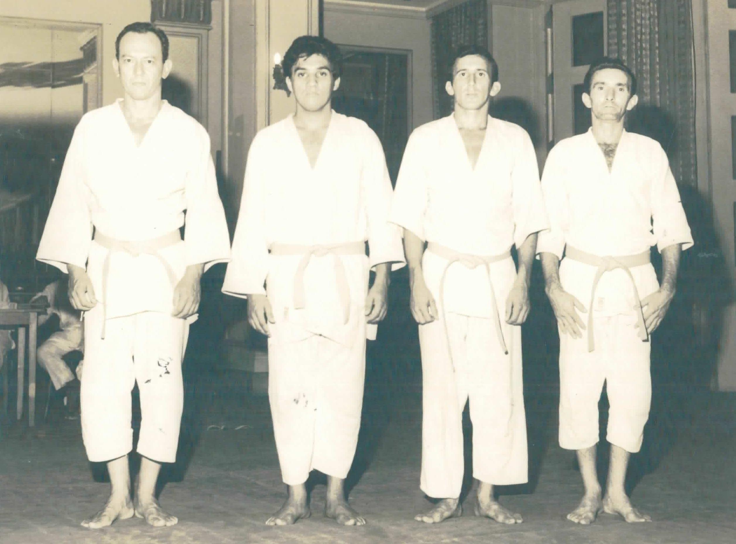 Atletas de judô