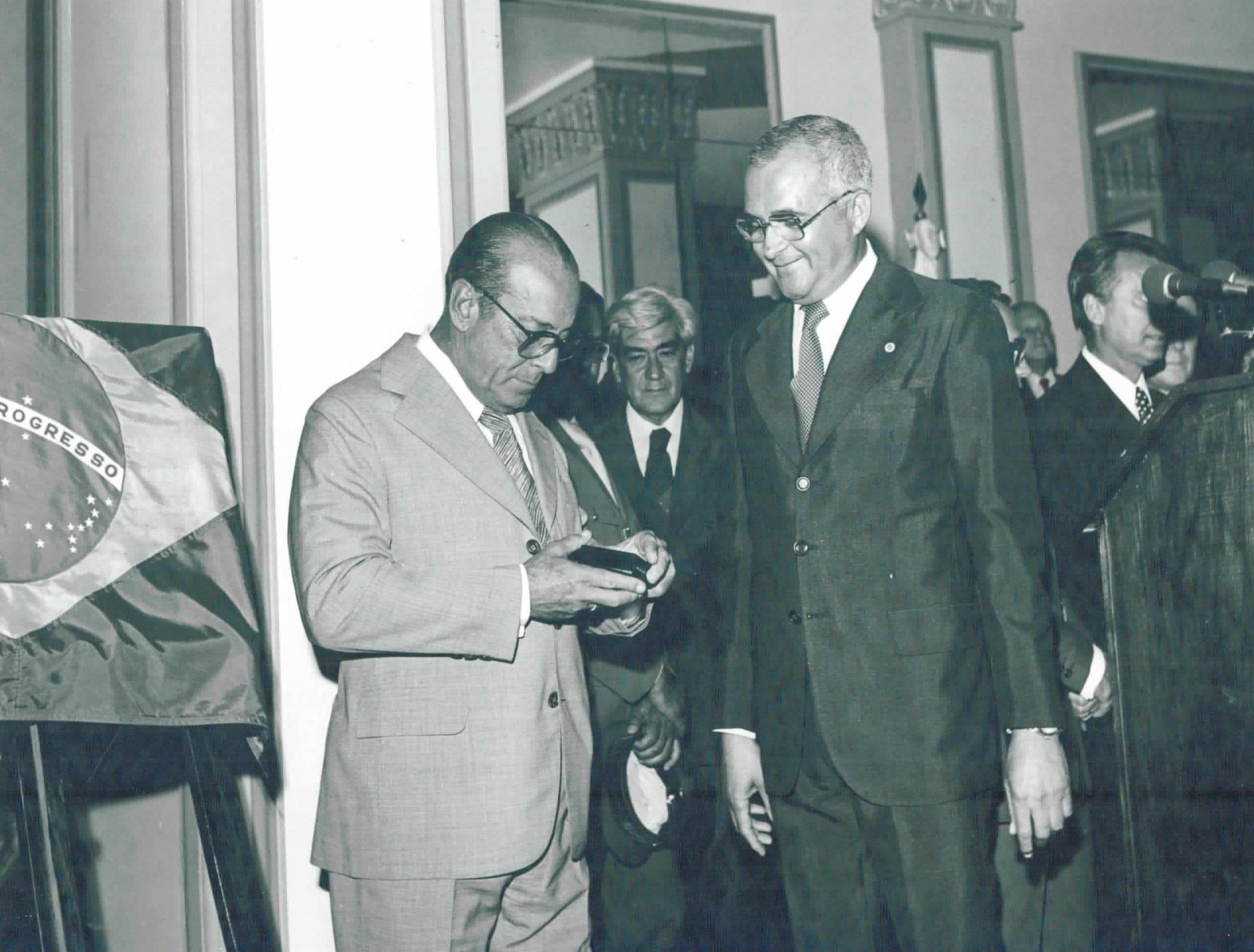 Evento com  ex-Presidente Figueiredo