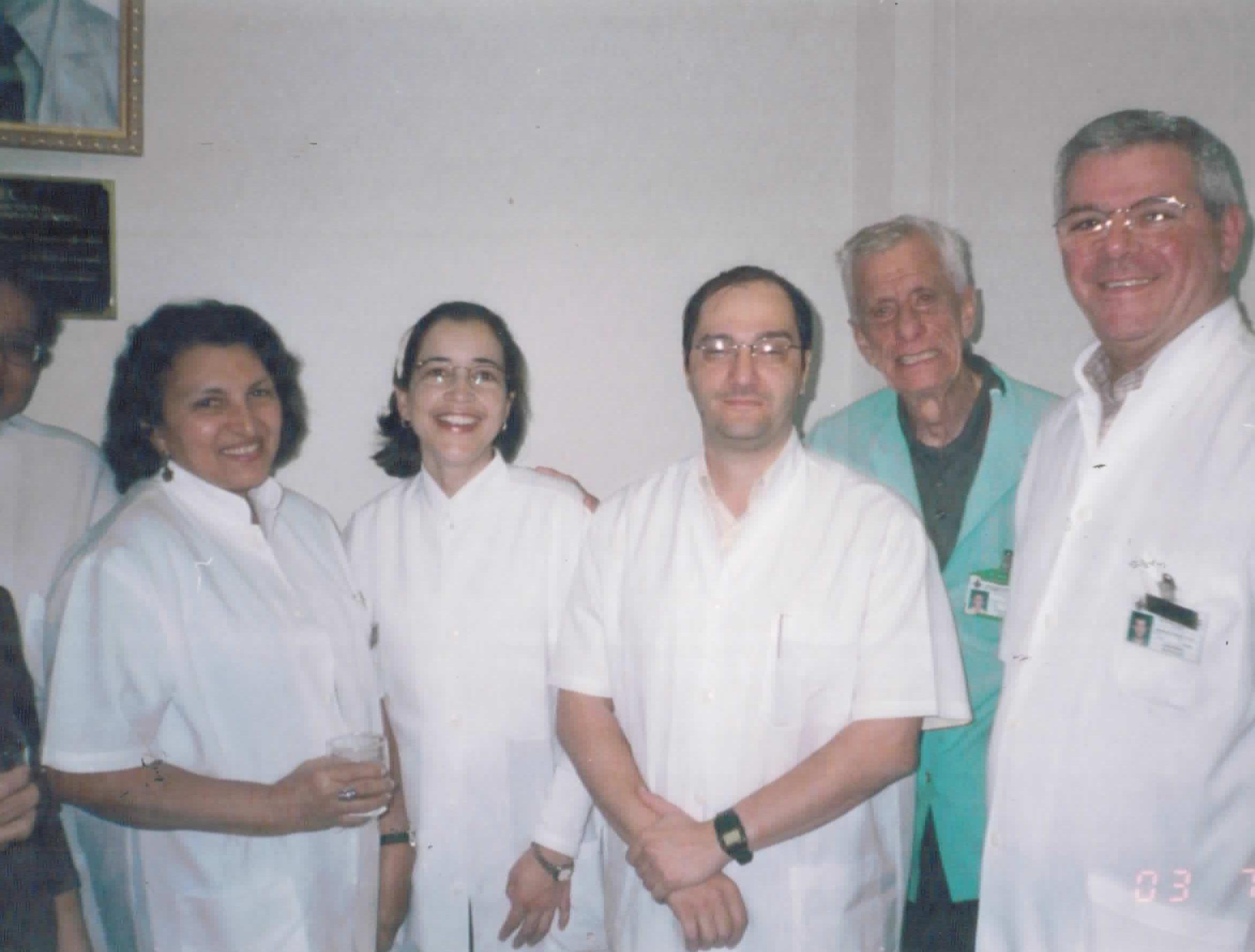 Parte do corpo clínico