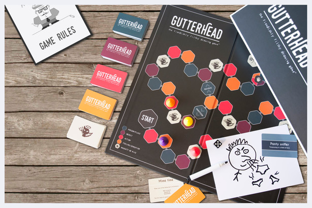Gutterhead adult party game