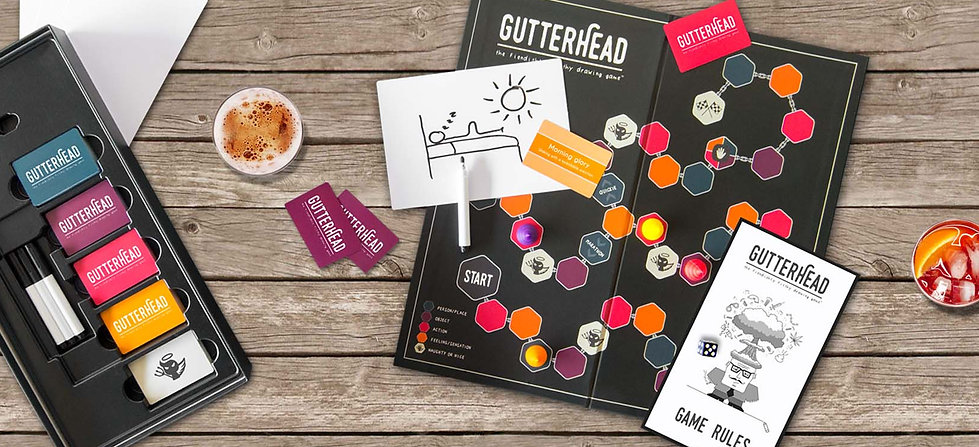 Photo of Gutterhead adult board game