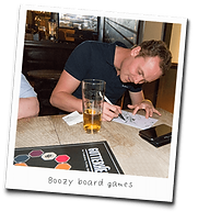 Picture of person playing Gutterhead - the adult party game