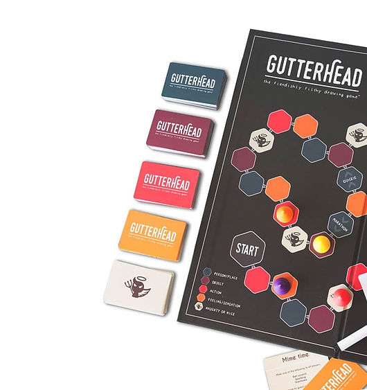 Picture of Gutterhead adult board game