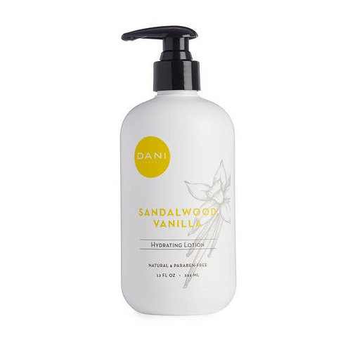 Hydrating Lotion- Sandalwood Vanilla