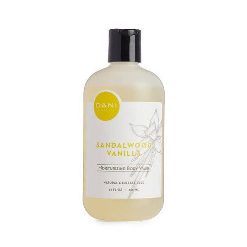 Moisturizing Body Wash- Sandalwood Vanilla